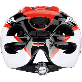 Alpina Rocky Helmet Kids neon red-black-white